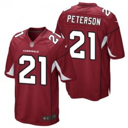 Maglia Football Americano Arizona Cardinals Home - 21 Peterson Nike