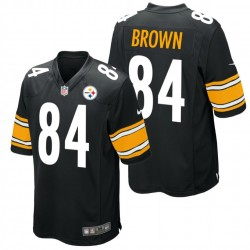 Pittsburgh Steelers  Shirt  Home - 84 Brown Nike
