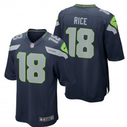 Maglia Football Americano Seattle Seahawks Home - 18 Rice Nike