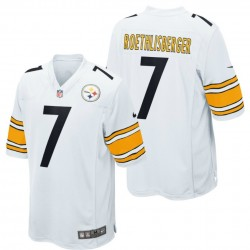 Maglia Football Americano Pittsburgh Steelers Away - 7 Roethlisberger Nike