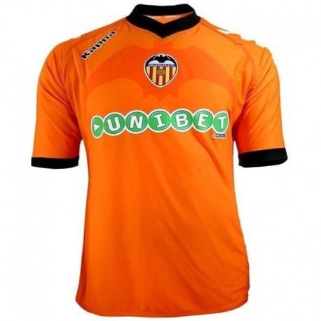 Valencia fútbol Jersey 2010/11 en Kappa