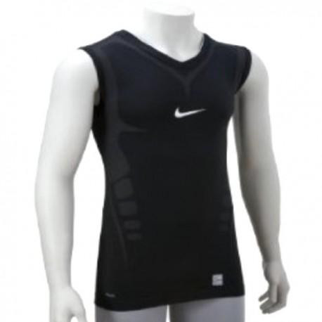 Entrenamiento sin mangas Nike Pro Ultimate apretado-negro