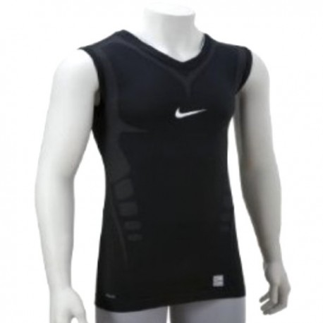 Smanicato Allenamento Nike Pro Ultimate Tight - Black
