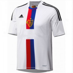 FC Basel entfernt Fußball Trikot 2013/14 Player Issue - Adidas