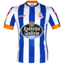Maillot de foot Deportivo La Coruna Home 2013/14 - Lotto