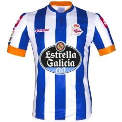 Primera camiseta de futbol Deportivo La Coruña 2013/14 - Lotto