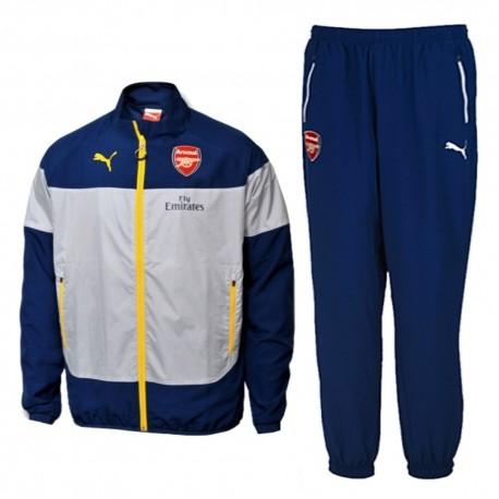 Survetement de presentation bleu Arsenal