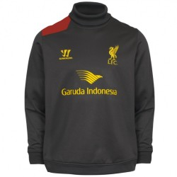 Liverpool FC training sweatshirt 2014/15 dark grey - Warrior