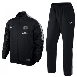 PSG Paris Saint Germain Presentation Tracksuit 2015 black - Nike