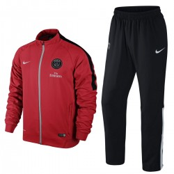 PSG Paris Saint Germain Presentation Tracksuit 2015 red - Nike