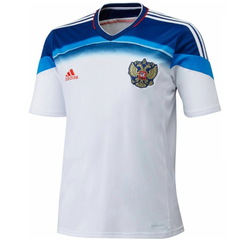 russland nationalmannschaft away fu ball trikot 2014 15. Black Bedroom Furniture Sets. Home Design Ideas