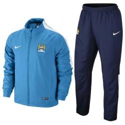 Survêtement de présentation Manchester City 2014/15 - Nike - Sky blue