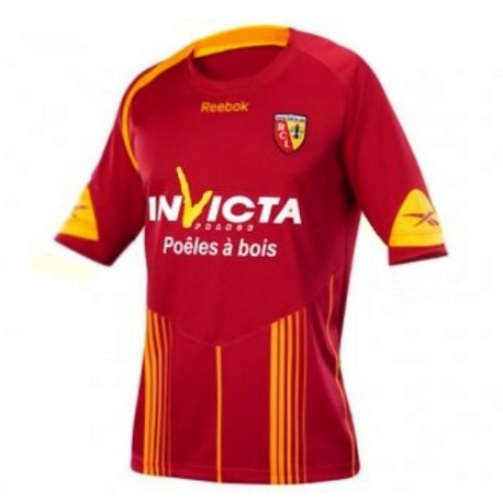Maillot de foot RC Lens Home, 09/10 Reebok