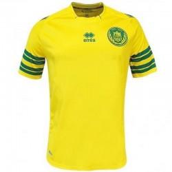 FC Nantes maillot de foot Home 2013/14 Pas Sponsor - Errea
