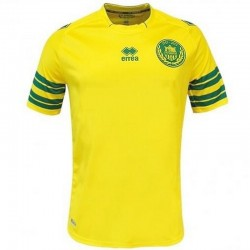 FC Nantes unsponsored Home football shirt 2013/14 - Errea