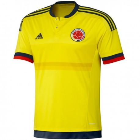 official photos 91d82 3b0ec Colombia National team Home football shirt 2015/16 - Adidas ...