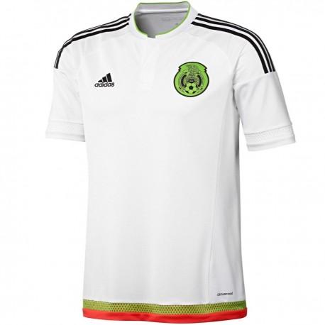 c6354bcdbd7c6 Camiseta fútbol seleccion Mexico Away 2015 16 - Adidas ...