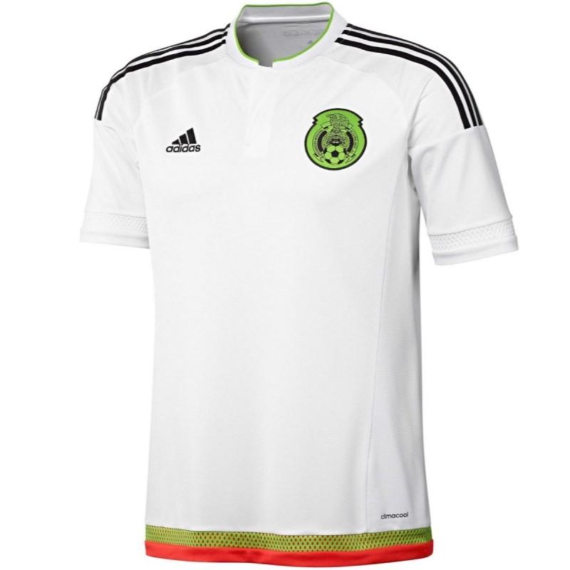 19e3f03e414a0 Camiseta fútbol seleccion Mexico Away 2015 16 - Adidas ...