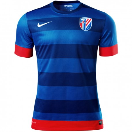 Shanghai Shenhua FC Home football shirt 2013/14 - Nike