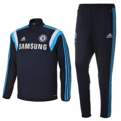 FC Chelsea blau technische Trainingsanzug 2014/15 - Adidas