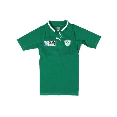 Maglia Rugby Irlanda 2011/12 Home World Cup 2011 by Puma Players Test