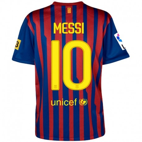FC Barcelona primera camiseta 2011 12 Player Issue Messi 10 - Nike ... 7fb844a1730