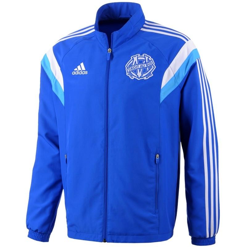 Olympique de Marseille presentation tracksuit 201415 blue