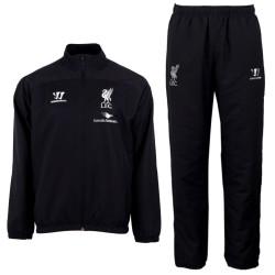 Liverpool FC black presentation tracksuit 2014/15 - Warrior