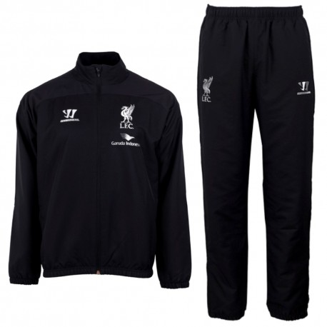 Liverpool FC black presentation tracksuit 2014/15 - Warrior
