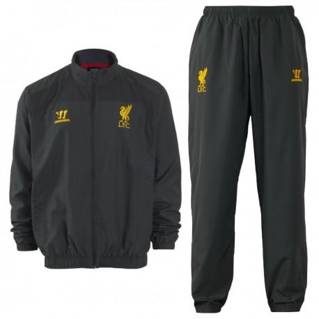 Liverpool FC grey presentation tracksuit 2014/15 - Warrior
