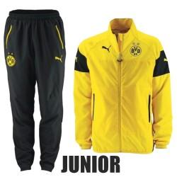 Kinder - BVB Borussia Dortmund Präsentation Trainingsanzug 2014/15 - Puma