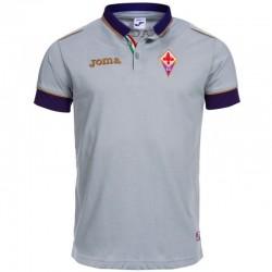 Maillot polo de presentation gris AC Fiorentina 2014/15 - Joma
