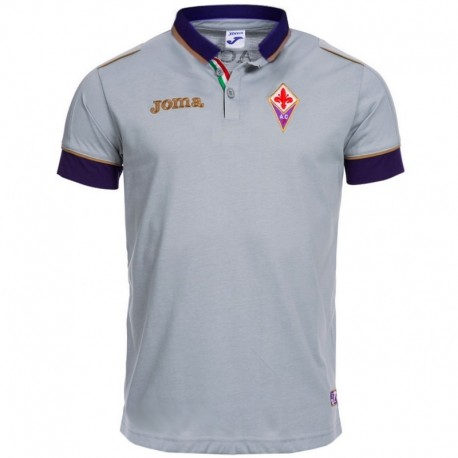 AC Fiorentina grey presentation polo shirt 2014/15 - Joma