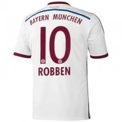 Camiseta de fútbol Bayern Munich Away 2014/15 Robben 10 - Adidas
