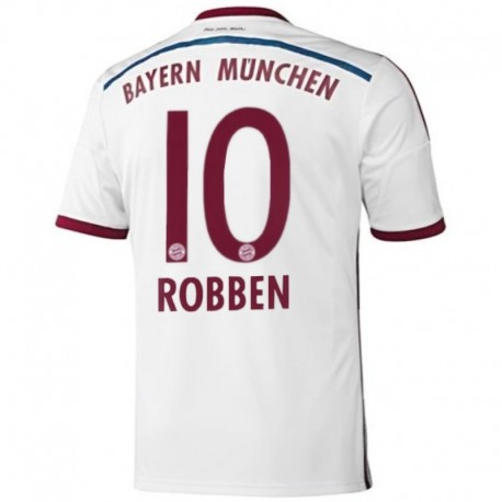 Bayern Munich Away football shirt 2014/15 Robben 10 - Adidas