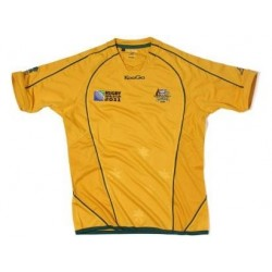 Australia Rugby jersey 2011/12 Home World Cup 2011 Match by manufacturer KooGa