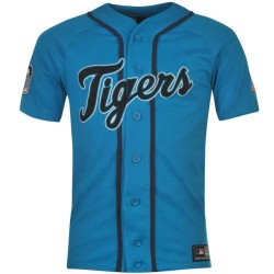 Maglia Baseball MLB Detroit Tigers Away Hotch 2015 - Majestic