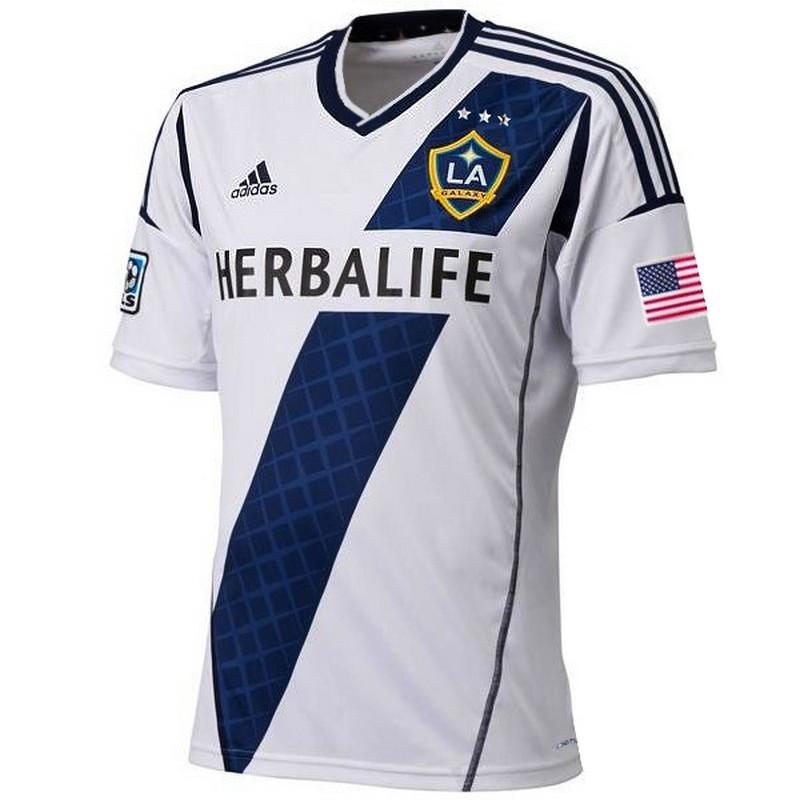 preparar consumo tiempo  Los Angeles Galaxy Soccer Jersey Home 2013/14 - Adidas - SportingPlus -  Passion for Sport
