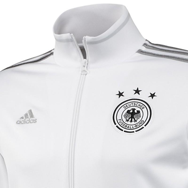Alemania Adidas Presentacion De Chaqueta 2015 Blanca 4Ownq8