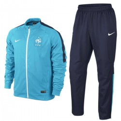 France football team Presentation tracksuit 2015/16 light blue - Nike