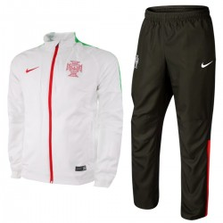 Portugal football team Presentation tracksuit 2015/16 white - Nike