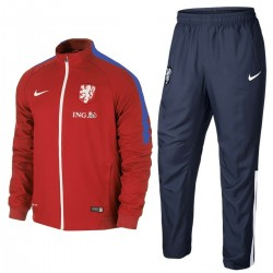 Netherlands football team red Presentation tracksuit 2015/16 - Nike
