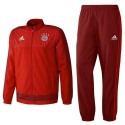 Bayern München Präsentation Trainingsanzug 2015/16 - Adidas
