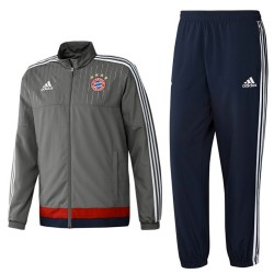 Tuta da rappresentanza grigia Bayern Monaco 2015/16 - Adidas