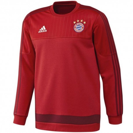 dc0b3084c Bayern Munich training sweat top 2015 16 - Adidas - SportingPlus ...