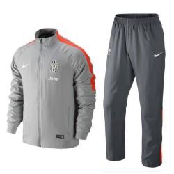 Juventus Turin Lichtgrau Präsentation Trainingsanzug 2014/15 - Nike