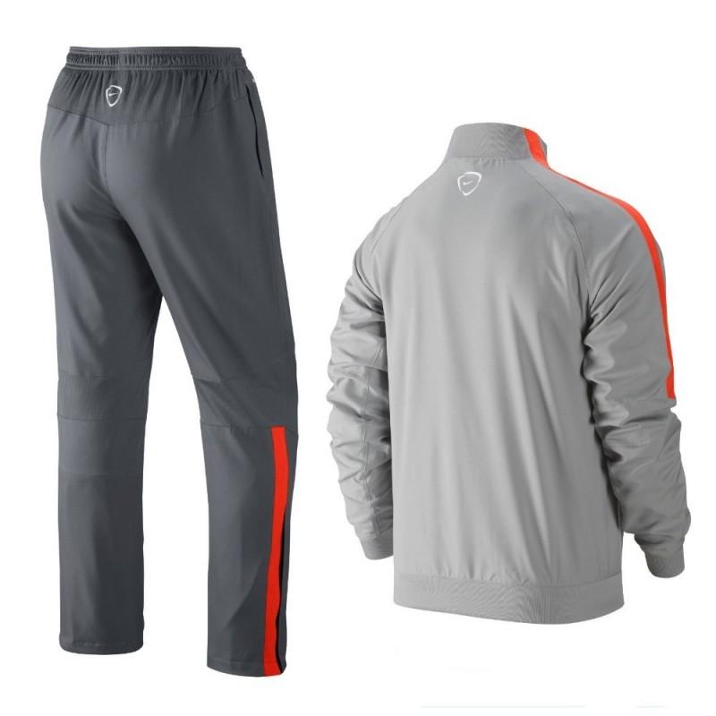 Juventus Light Grey Presentation Tracksuit 2014 15 Nike