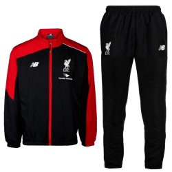 Survetement de presentation noir FC Liverpool 2015/16 - New Balance
