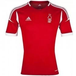 Nottingham Forest FC Home Fußball Trikot 2013/14 - Adidas