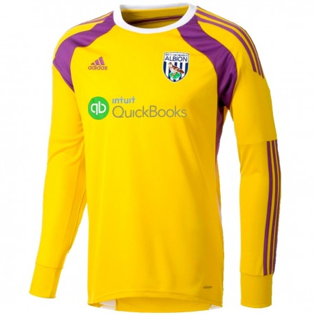 West Bromwich Albion Home goalkeeper shirt 2014/15 - Adidas